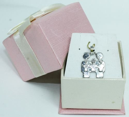 Pingente De Ouro Branco 18k750 Diamantes P525