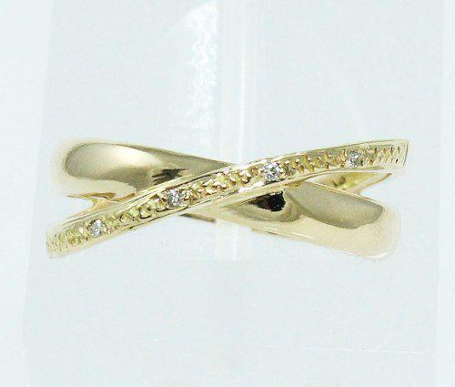 Anel De Ouro 18k750 Diamantes 1696