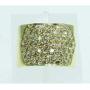 Anel De Ouro 18k750 Diamantes 2011