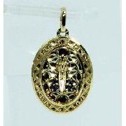 Pingente Ouro 18k750 Nossa Senhora Aparecida P531
