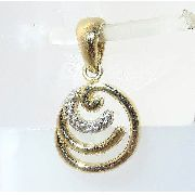 Pingente De Ouro 18k750 P466