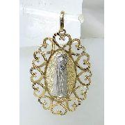 Pingente Ouro 18k750 Nossa Senhora De Fatima P256