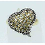 Anel De Ouro 18k750 Diamantes 1404