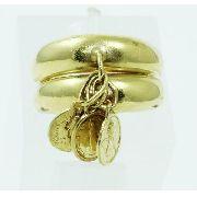 Anel De Ouro 18k750 Pingentes 2397