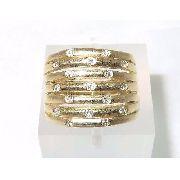 Anel De Ouro 18k750 Diamantes 1125