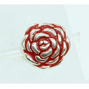 Charm Berloque Rosa Flor Prata 925 C4