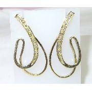 Brincos De Ouro 18k750 Diamantes B445