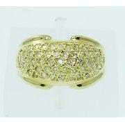 Anel De Ouro 18k750 Diamantes 2464