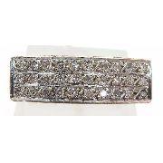 Anel De Ouro 18k750 Diamantes 613