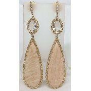 Brincos De Ouro 18k750 Vivara Diamantes B379