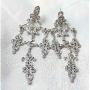 Brincos Ouro Branco 18k750 Diamantes Hstern B378