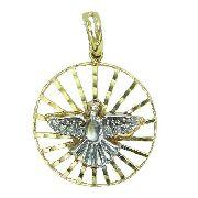 Pingente De Ouro 18k750 Diamantes P745