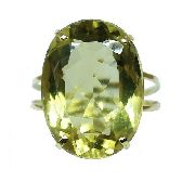 Anel De Ouro 18k750 Green Gold 12x S/j Ft/gt 2643