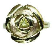 Anel De Ouro 18k750 Flor 12x S/j Ft/gt 2676