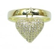 Anel De Ouro 18k750 Diamantes 12x S/j Ft/gt 2708