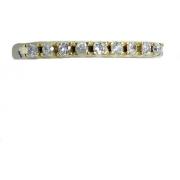 Anel De Ouro 18k 750 Diamantes 2913