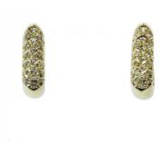 Brinco De Ouro 18k750 Diamantes B955