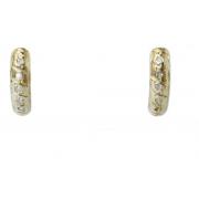 Brinco De Ouro 18k750 Diamantes B974