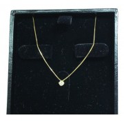 Colar De Ouro 18k750 Diamante 12x S/j Ft/gt C368