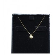 Colar De Ouro 18k750 Diamante 12x S/j Ft/gt C399