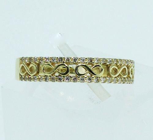 Anel De Ouro 18k750 Diamantes 1683