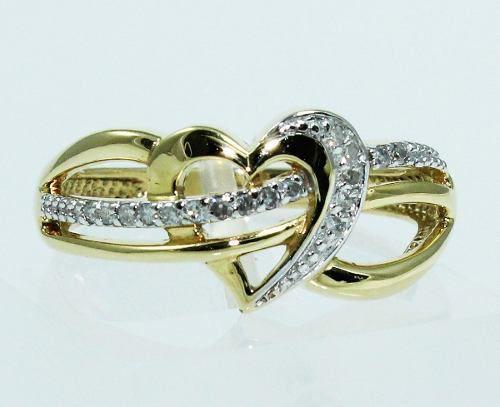 Anel De Ouro 18k750 Diamantes 1657