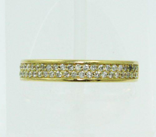 Anel De Ouro 18k750 Diamantes 2304