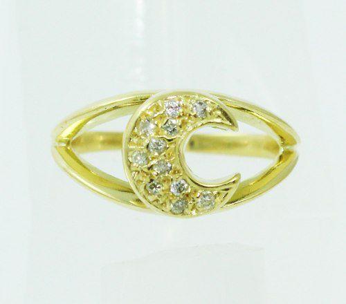 Anel De Ouro 18k750 Diamantes 2302