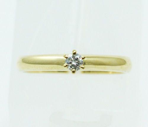 Anel De Ouro 18k750 Diamante 2314