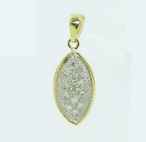 Pingente De Ouro 18k750 Diamantes P671
