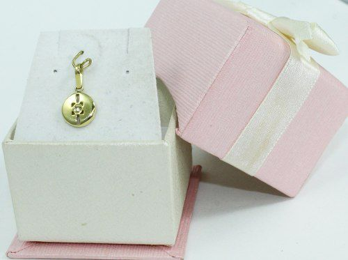 Pingente De Ouro 18k750 Diamante P297