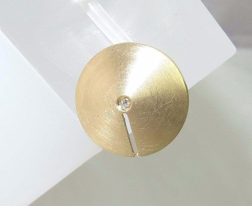 Pingente De Ouro 18k750 Diamante P288