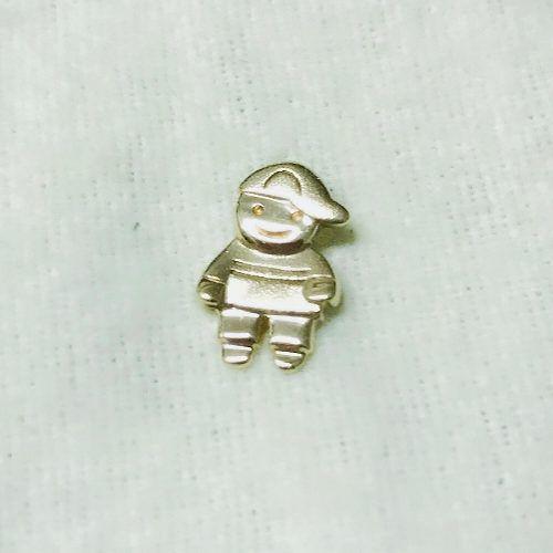 Pingente De Ouro 18k750 Menino Grife Vivara P277