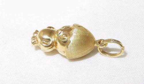 Pingente De Ouro 18k750 Pássaro P264