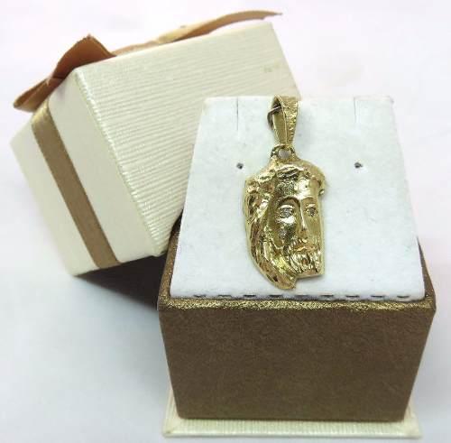 Pingente Ouro 18k750 Jesus Cristo Diamantes P141