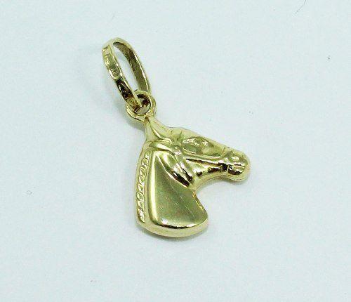 Pingente De Ouro 18k750 Cavalo P12