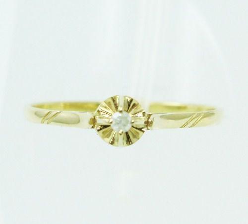 Anel De Ouro 18k750 Diamante 2364