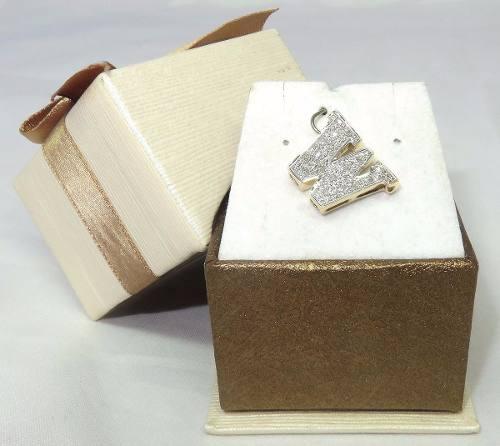 Pingente Ouro 18k750 Letra W Diamantes P223
