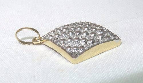 Pingente Ouro 18k 750 Diamantes P225