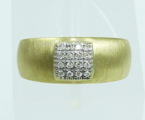Anel De Ouro 18k750 Diamantes Vivara 2041