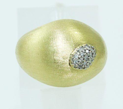 Anel De Ouro 18k750 Diamantes Vivara 2390