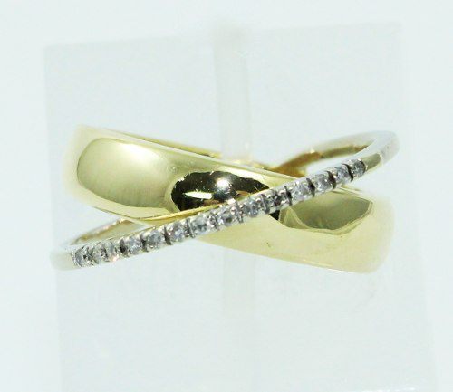 Anel De Ouro 18k750 Diamantes Vivara 2388