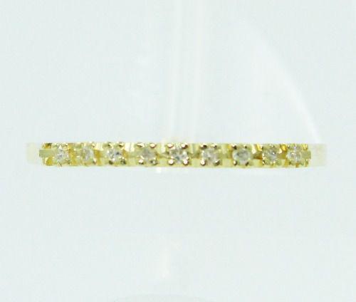 Anel De Ouro 18k750 Diamantes 2378