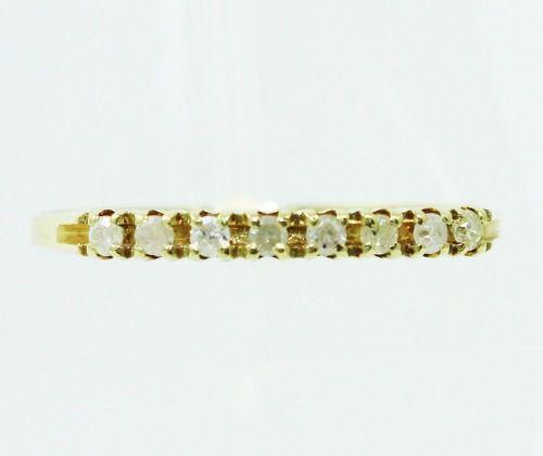 Anel De Ouro 18k750 Diamantes 2380