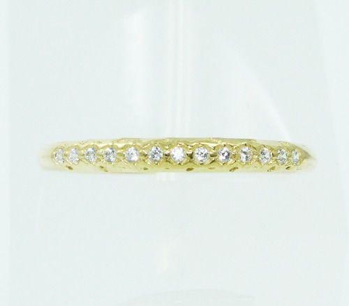 Anel De Ouro 18k750 Diamantes 2382