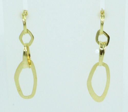 Brincos De Ouro 18k750 B754
