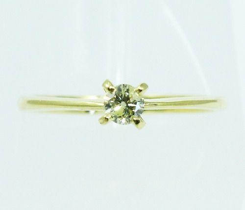 Anel De Ouro 18k750 Diamante 2169