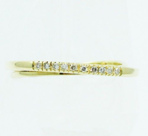 Anel De Ouro 18k750 Diamantes 2392