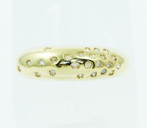 Anel De Ouro 18k750 Diamantes Vivara 2398