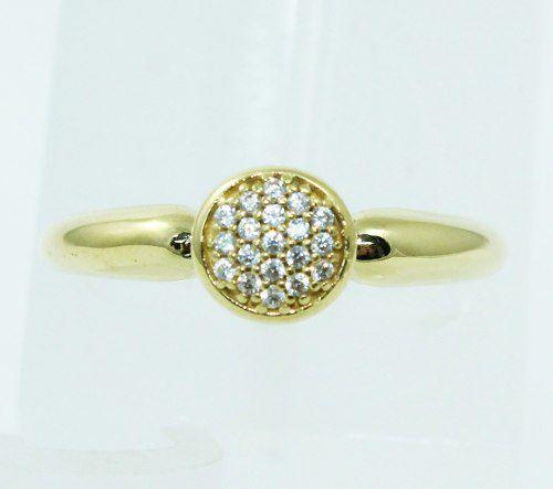 Anel De Ouro 18k750 Diamantes 2404